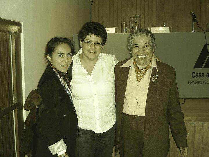 Coloquio de escritura sáfica. Con Odé y Reyna Barrera. Noviembre 2010