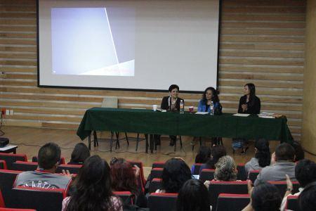 Inauguración del Coloquio de Tesis sobre Género. UACM, 2014.