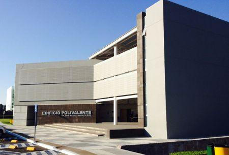 Edificio Polivalente de la Universidad Autónoma de Aguascalientes, 2014.