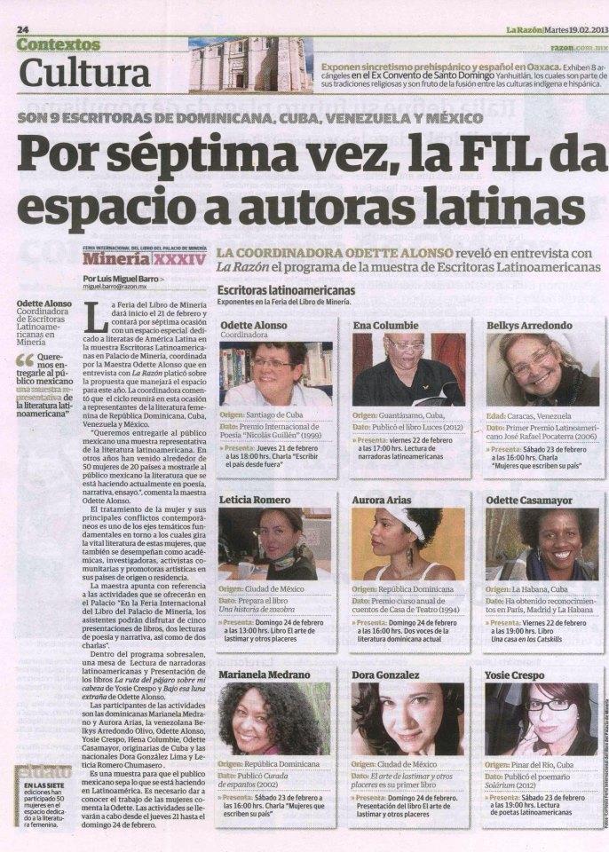 2013-FIL_Escritoras latinoamericanas